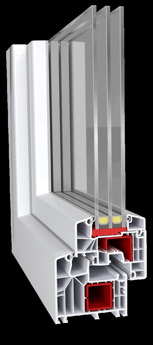 PVC дограма - прозорци и врати ideal 8000 classicline
